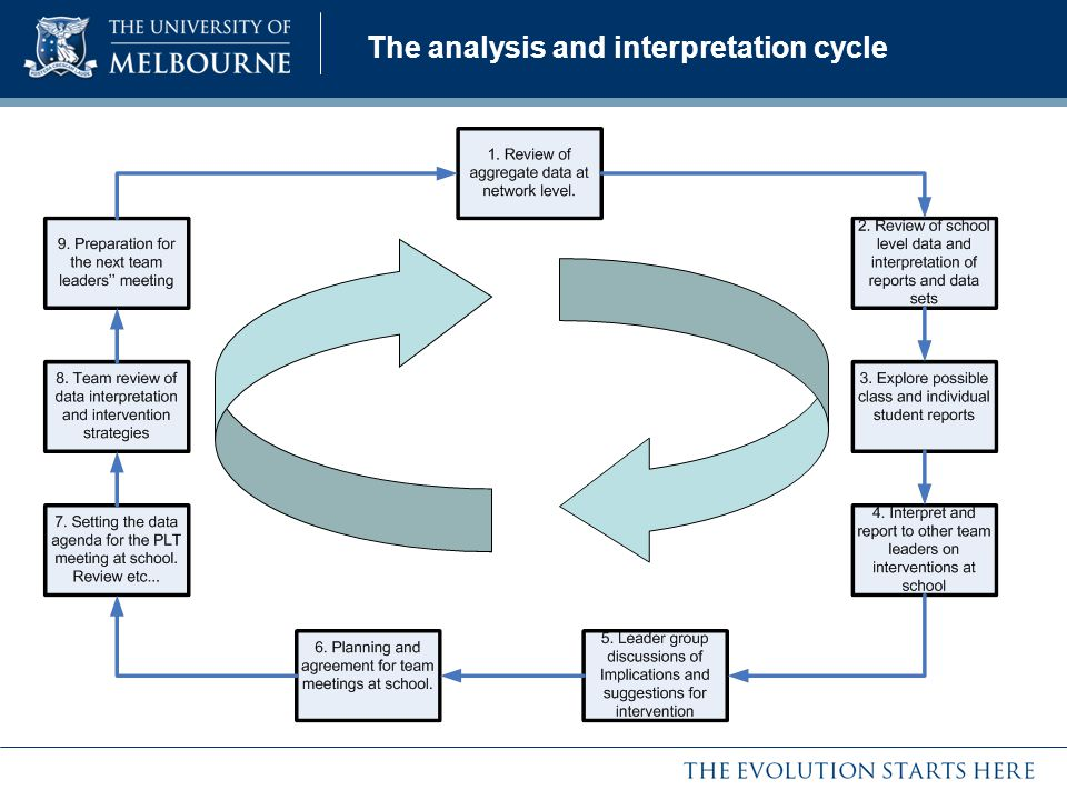 The analysis and interpretation cycle