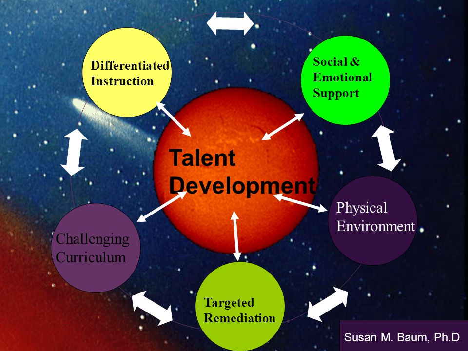 Talent Development Physical Environment Challenging Curriculum