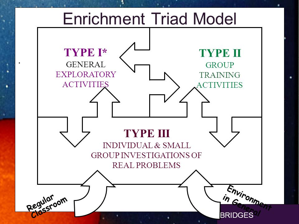 Enrichment Triad Model
