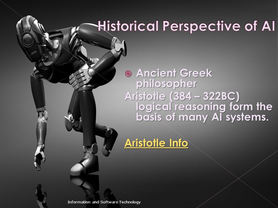 Historical Perspective of AI