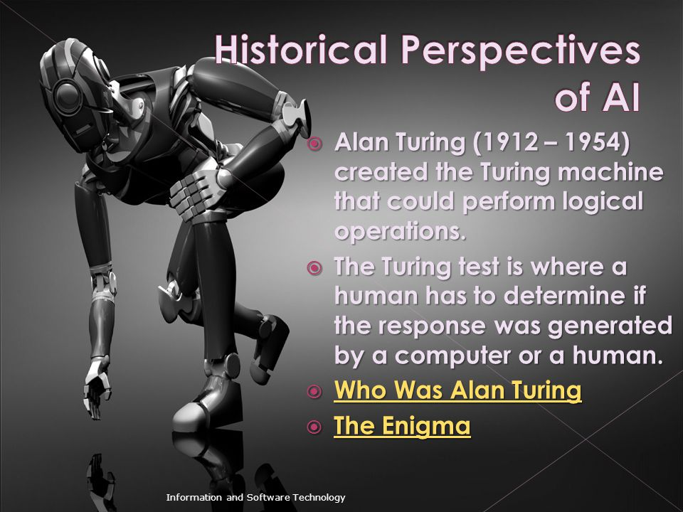 Historical Perspectives of AI