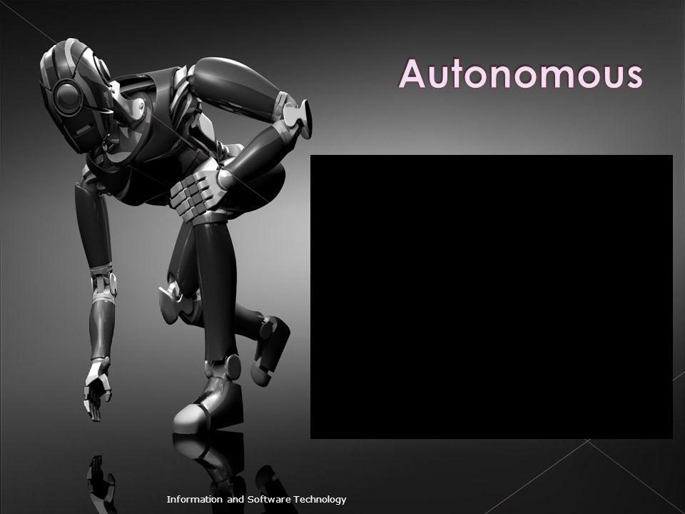 Autonomous Information and Software Technology