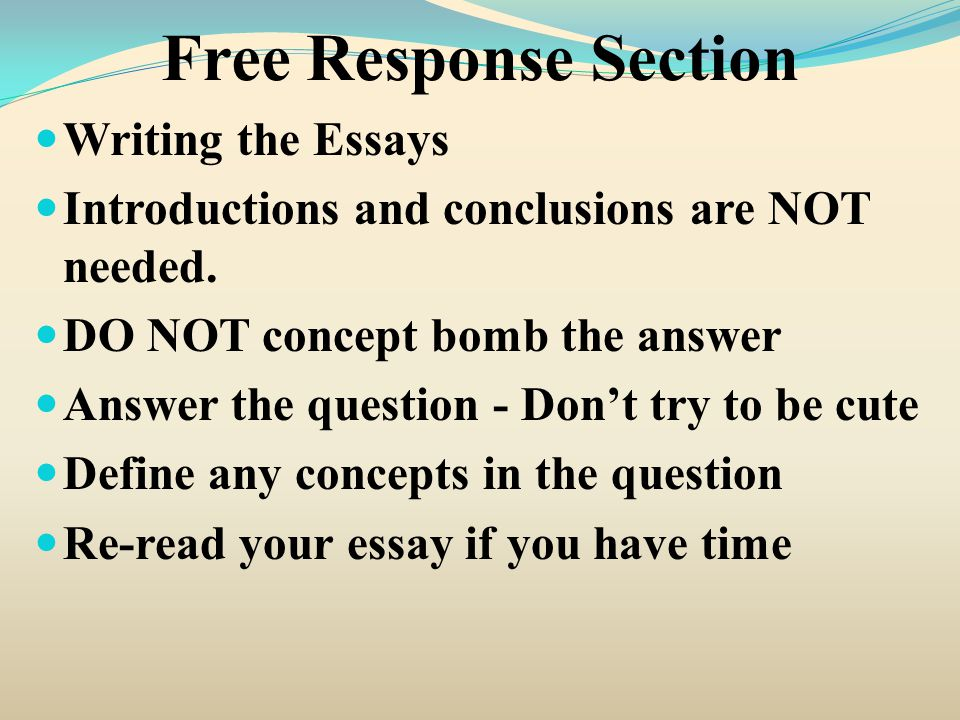 concept essays An essay is, generally, a piece of writing that gives the author's own argument — but the the concept of an essay has been extended to other mediums beyond.