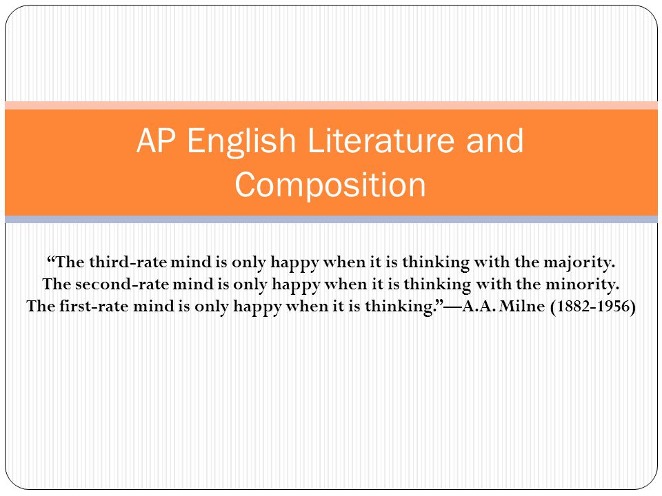 ap english language and composition 9 essays Ap english language and composition 9-point rubric 9 essays earning a score of 9 meet the criteria for 8 ap english language and composition 9-point rubric.