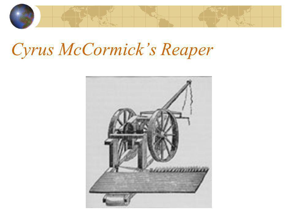 Cyrus McCormick's Reaper