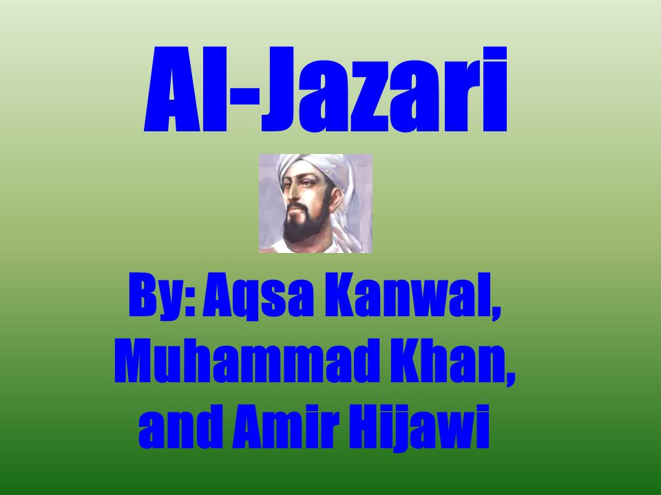 By: Aqsa Kanwal, Muhammad Khan, and Amir Hijawi
