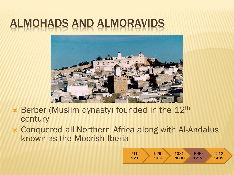 Almohads and Almoravids