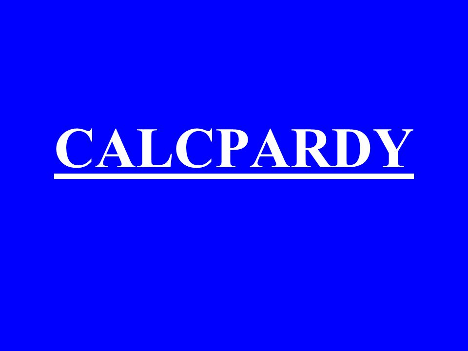 CALCPARDY