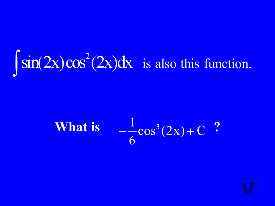 is also this function. What is