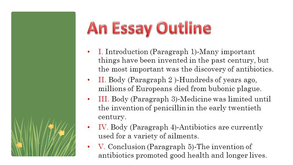 An Essay Outline