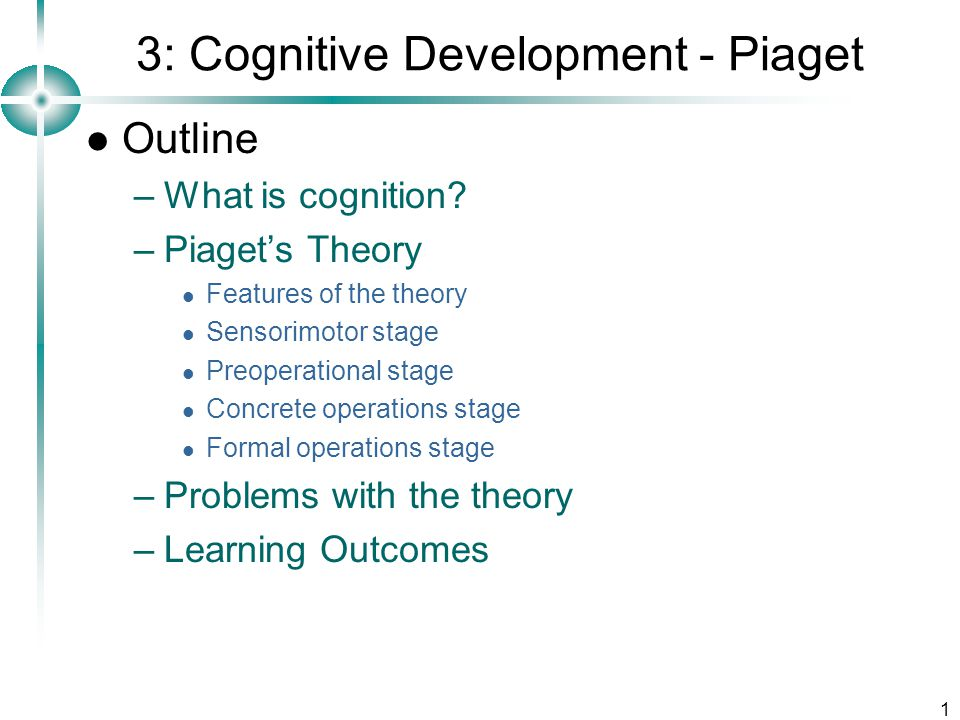 "child development piaget The term cognitive development refers to piaget's theory of intellectual development ""child development and emergent literacy,"" child development."