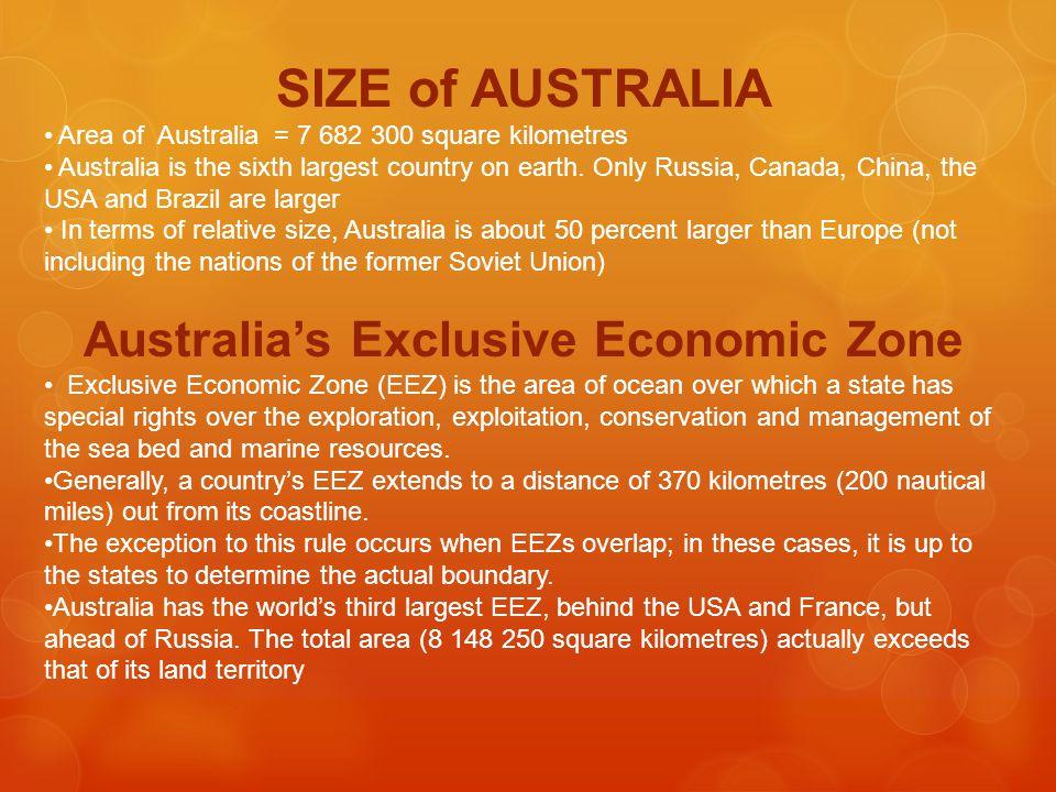 Australia's Exclusive Economic Zone