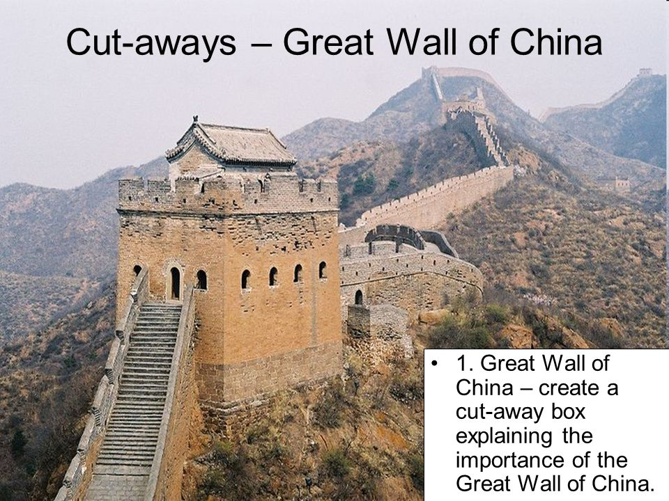 Cut-aways – Great Wall of China