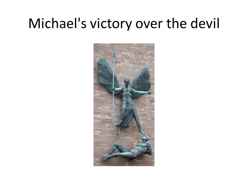 Michael s victory over the devil