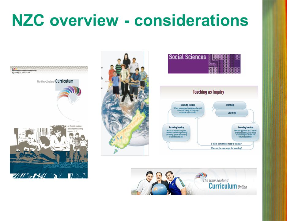 NZC overview - considerations