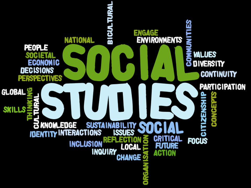 Talk to this Wordle…Social Studies is a concept based discipline – study how societies work, examine people's participation in local, national and international groups, investigate contemporary social issues, explore values and perspectives, learn how to become active citizens in their local and wider communities….