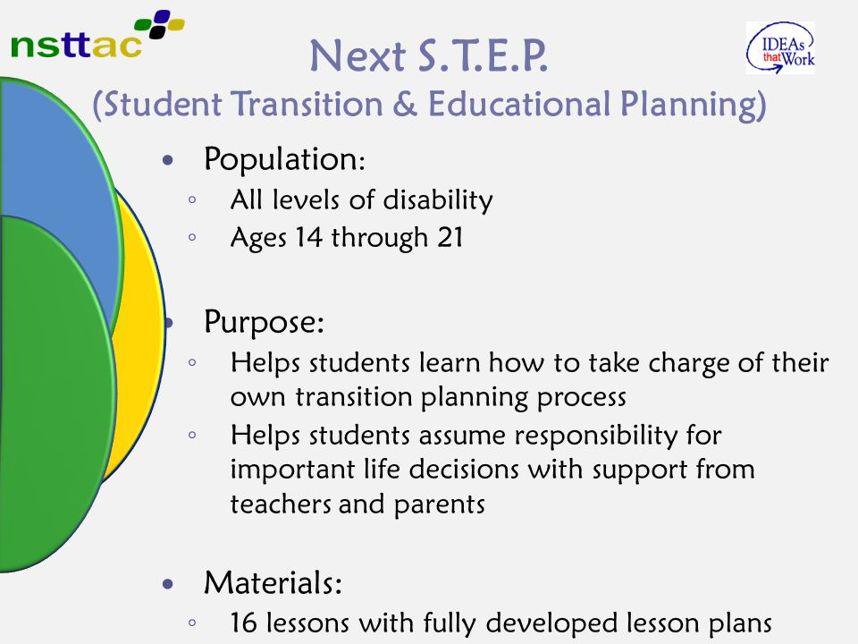 Next S.T.E.P. (Student Transition & Educational Planning)