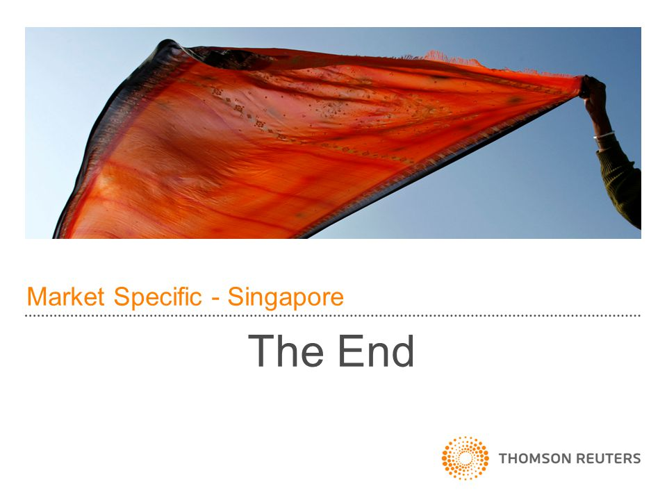 Market Specific - Singapore