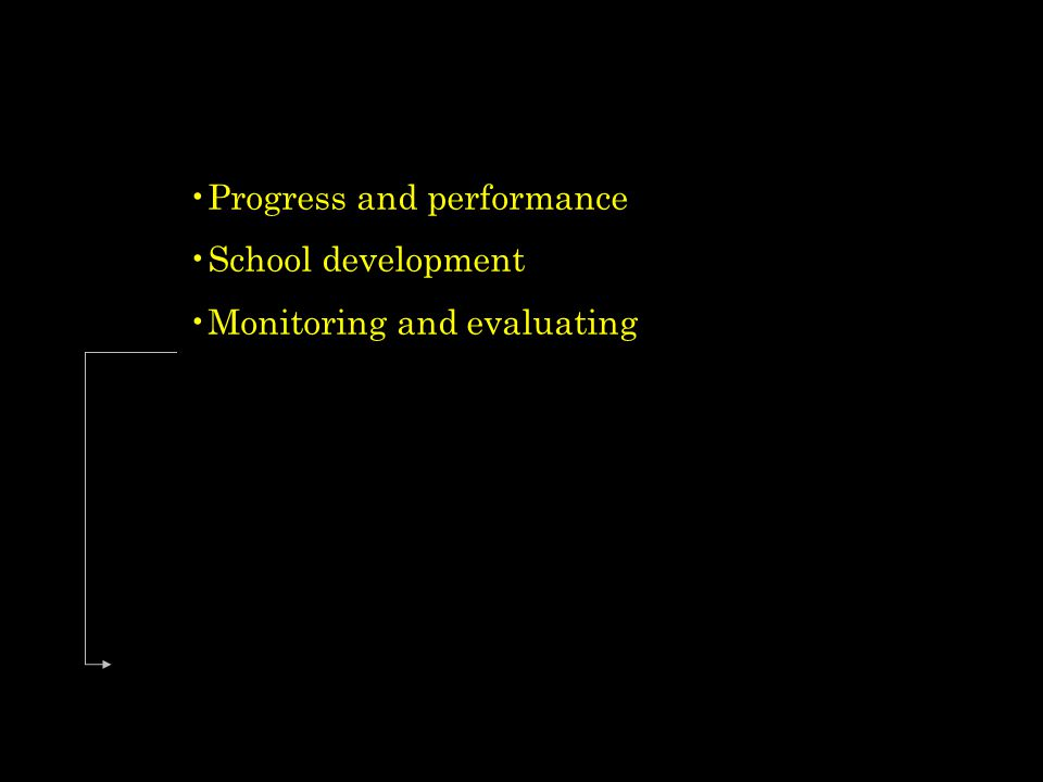Progress and performance