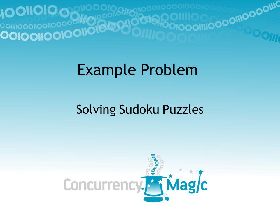 Solving Sudoku Puzzles
