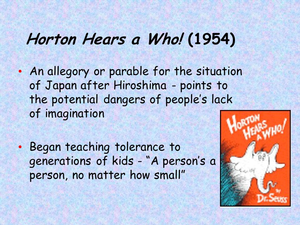 Horton Hears a Who! (1954)