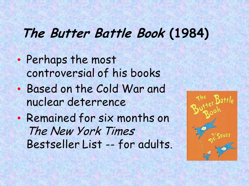 The Butter Battle Book (1984)