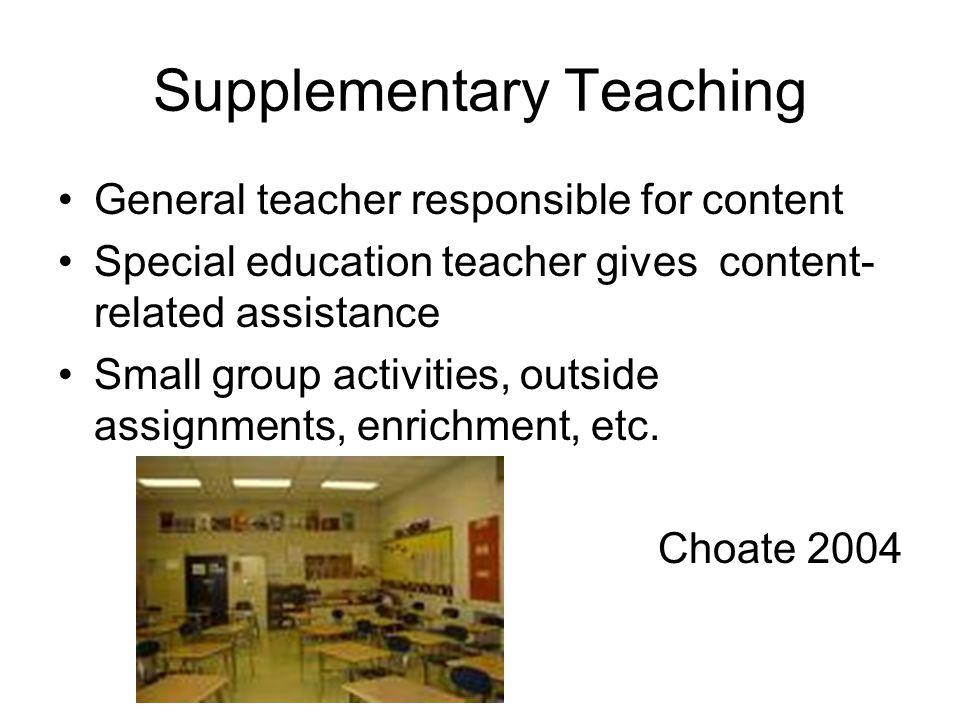 Supplementary Teaching