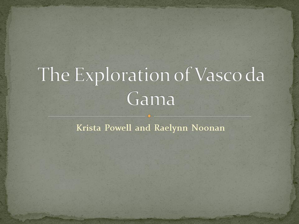 The Exploration of Vasco da Gama