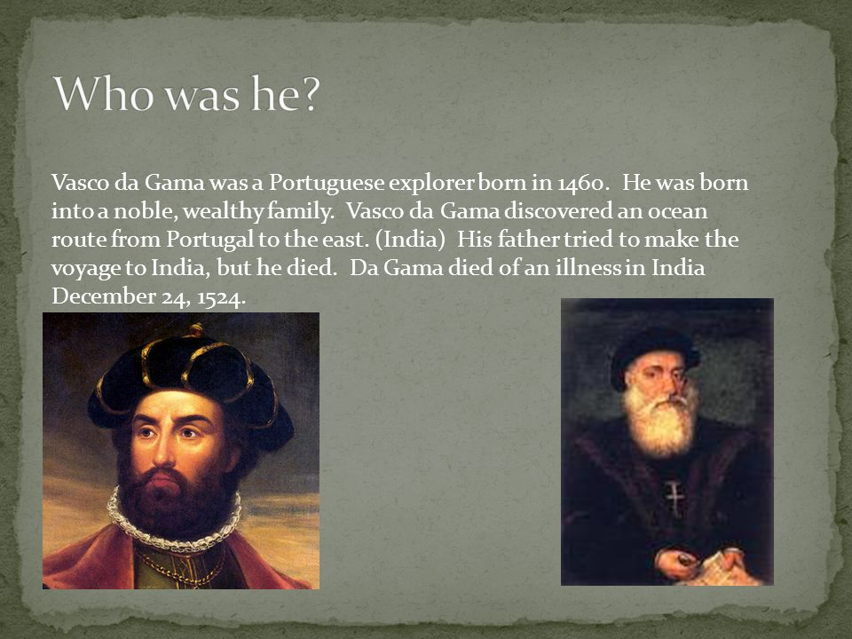 who did vasco da gama meet on his exploration to india
