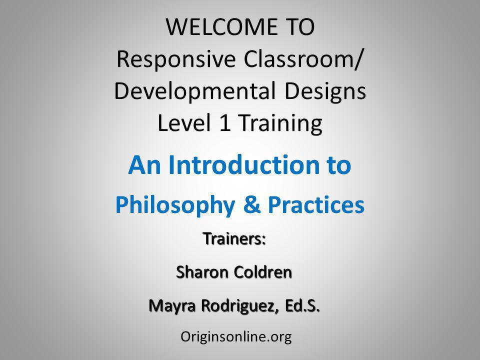 An Introduction to Philosophy & Practices
