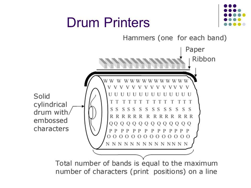 Drum Printers