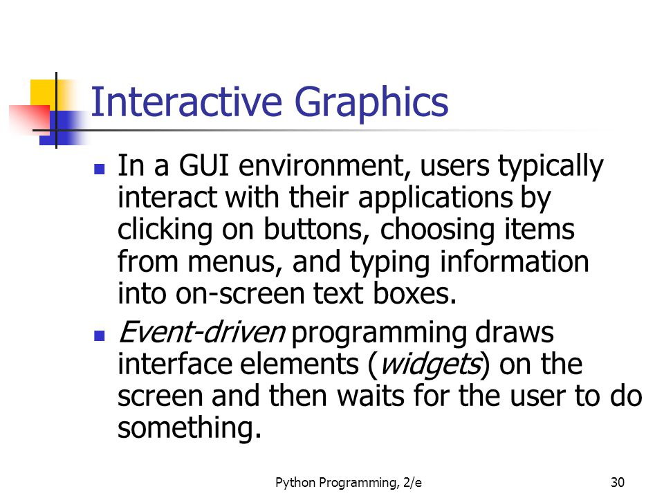 Interactive Graphics