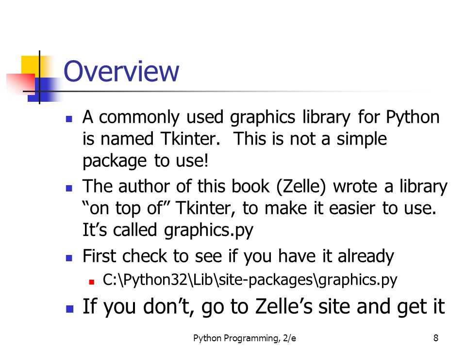 Overview If you don't, go to Zelle's site and get it