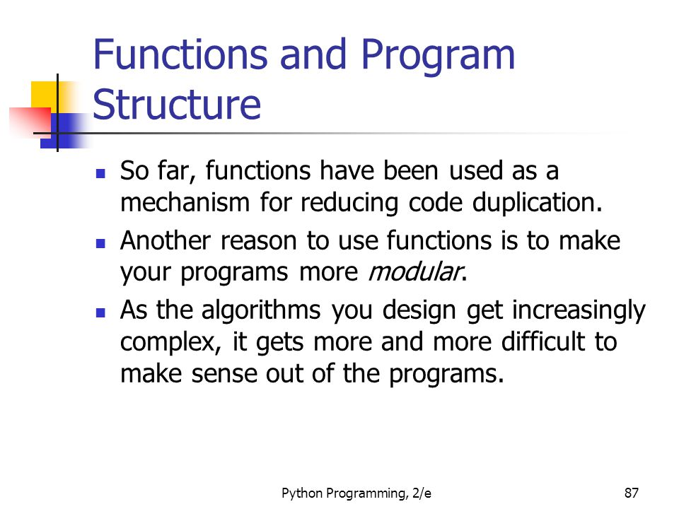 Functions and Program Structure