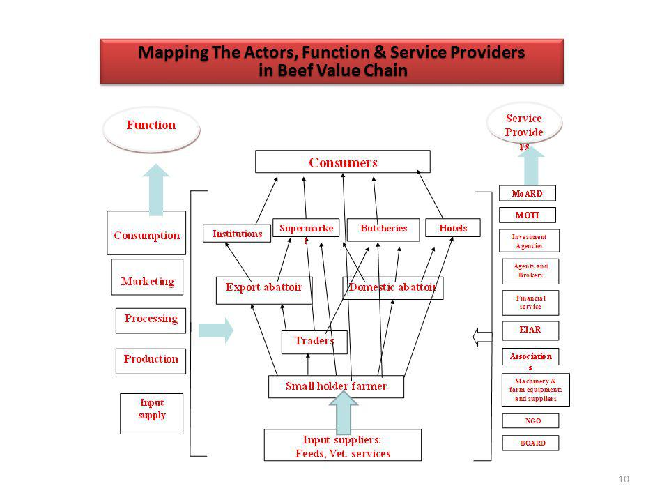 Mapping The Actors, Function & Service Providers