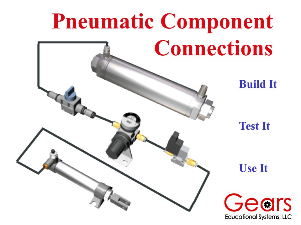 Pneumatic Component Connections