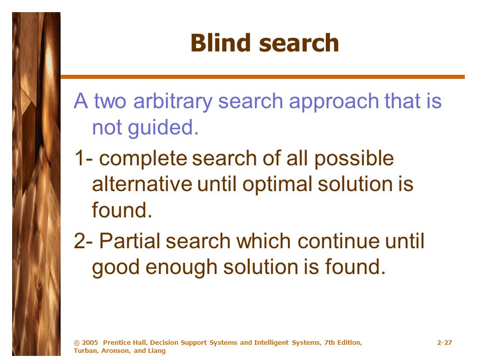 Blind search