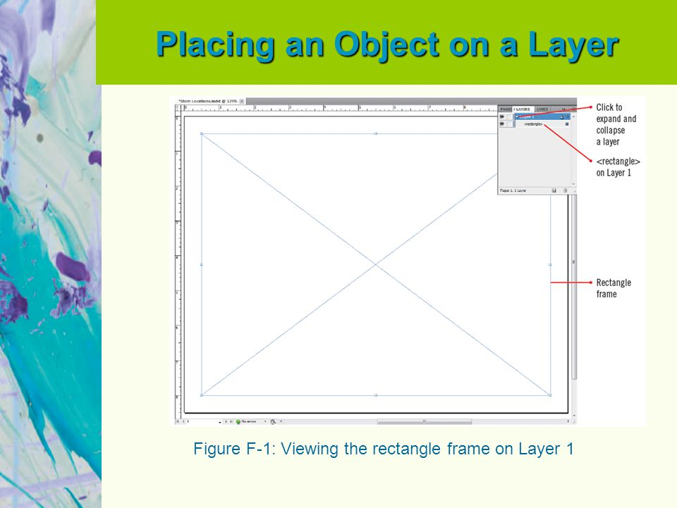 Placing an Object on a Layer