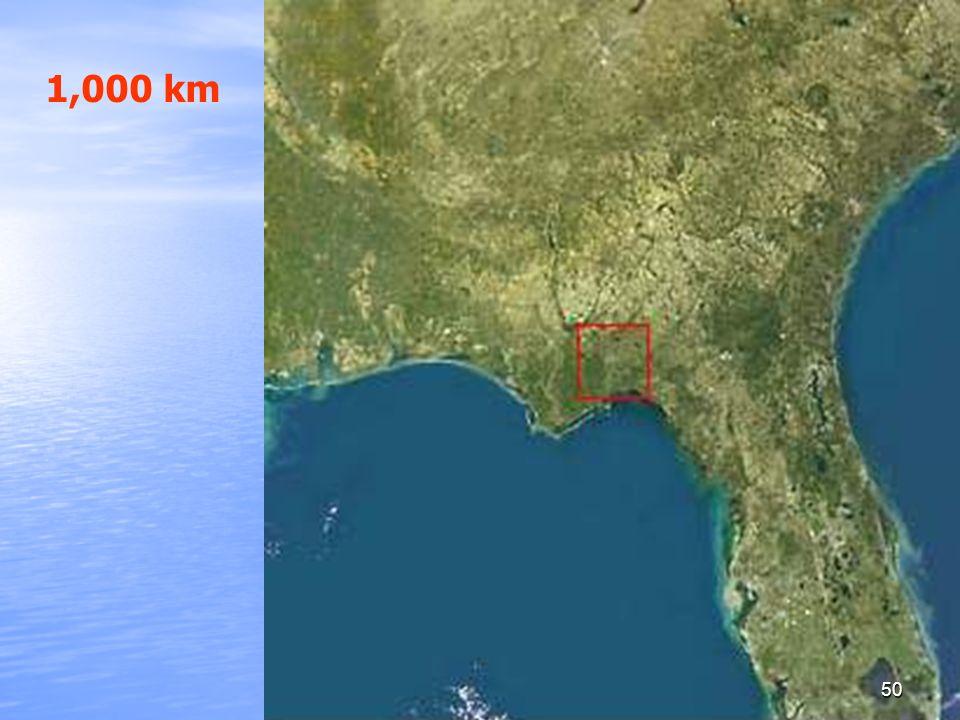 1,000 km
