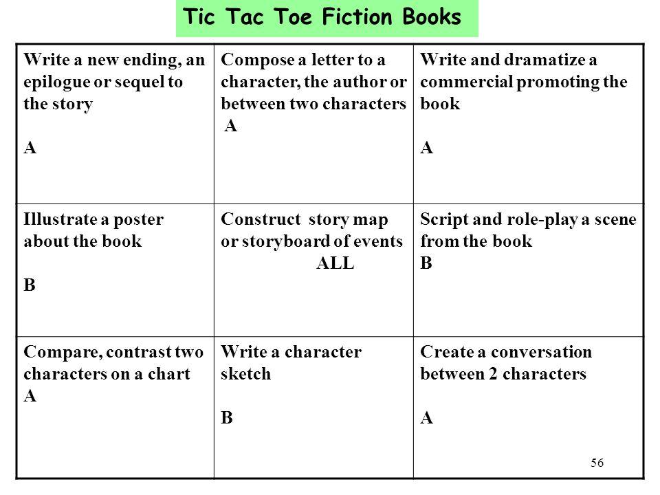 Tic Tac Toe Fiction Books