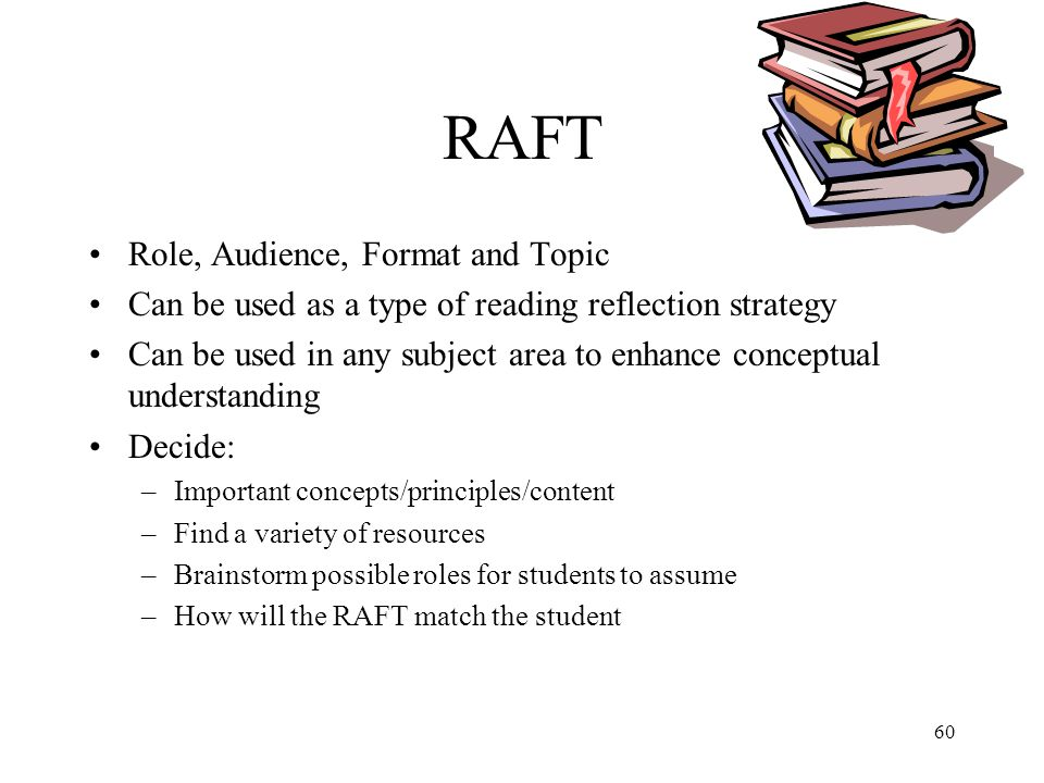 RAFT Role, Audience, Format and Topic