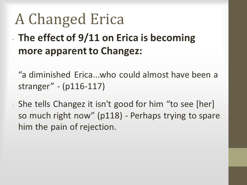 A Changed Erica