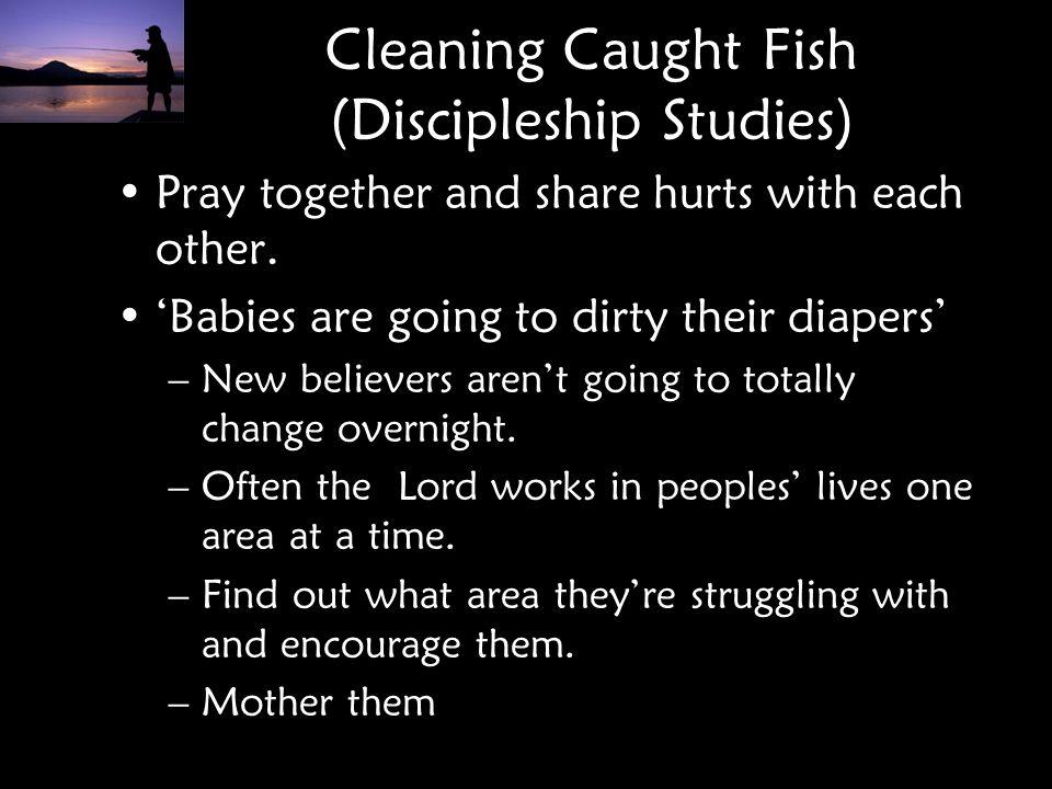 Cleaning Caught Fish (Discipleship Studies)