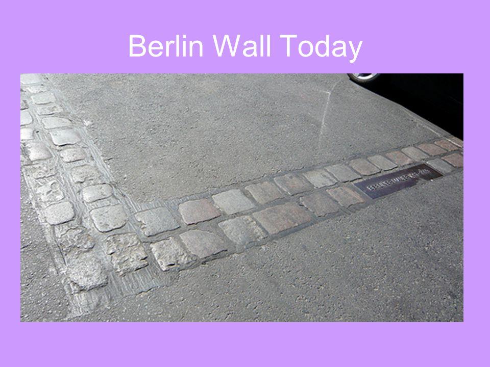 Berlin Wall Today