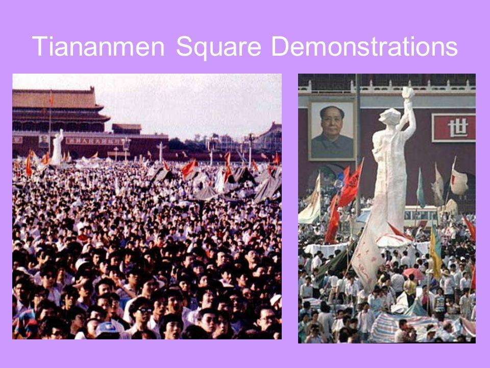 Tiananmen Square Demonstrations