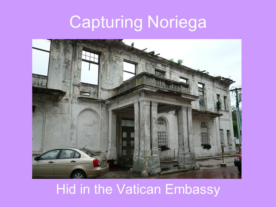 Hid in the Vatican Embassy