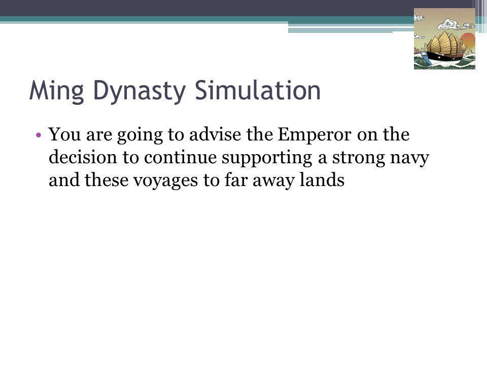 Ming Dynasty Simulation