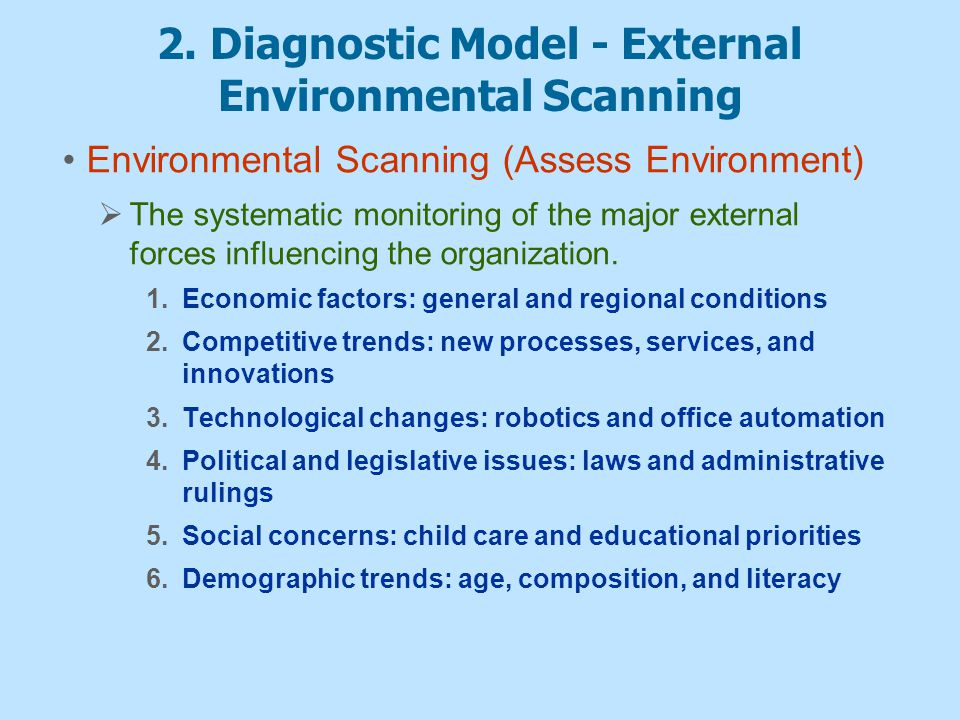 Strategic Planning Amp Human Resources The Diagnostic Model