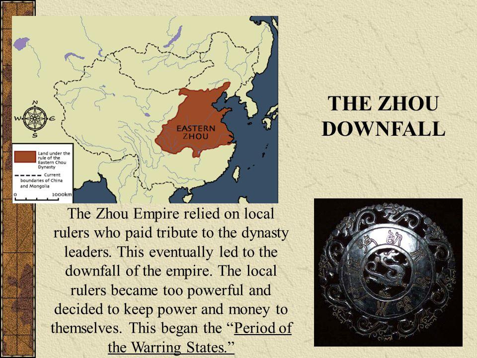 THE ZHOU DOWNFALL