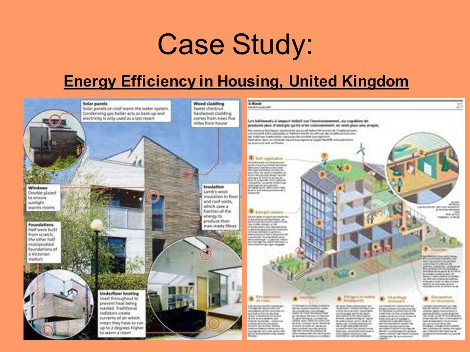 Case Study: Energy Efficiency in Housing, United Kingdom